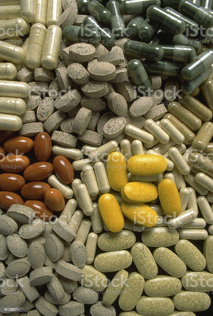 Natural Vitamins royalty-free stock photo