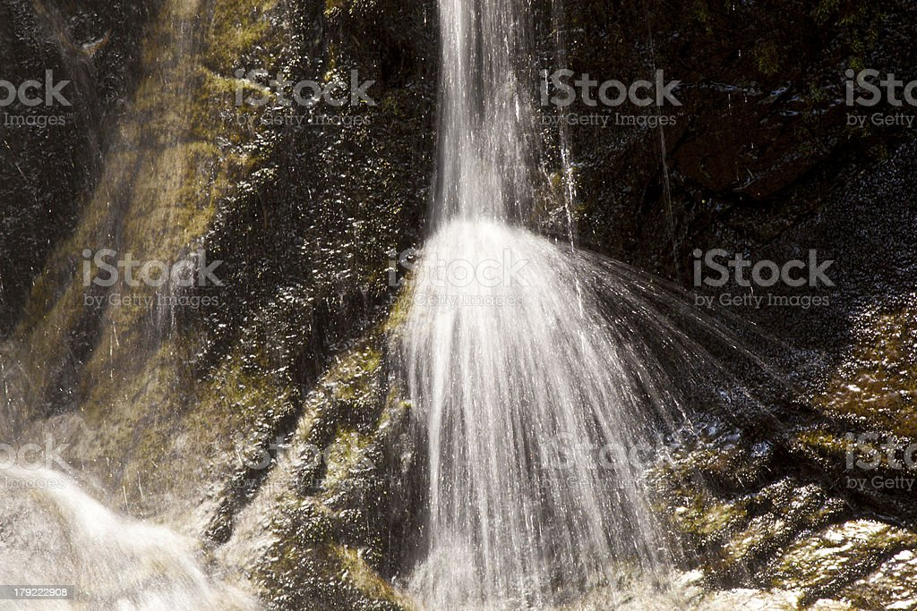 natural Waterfall in national park royalty-free stock photo