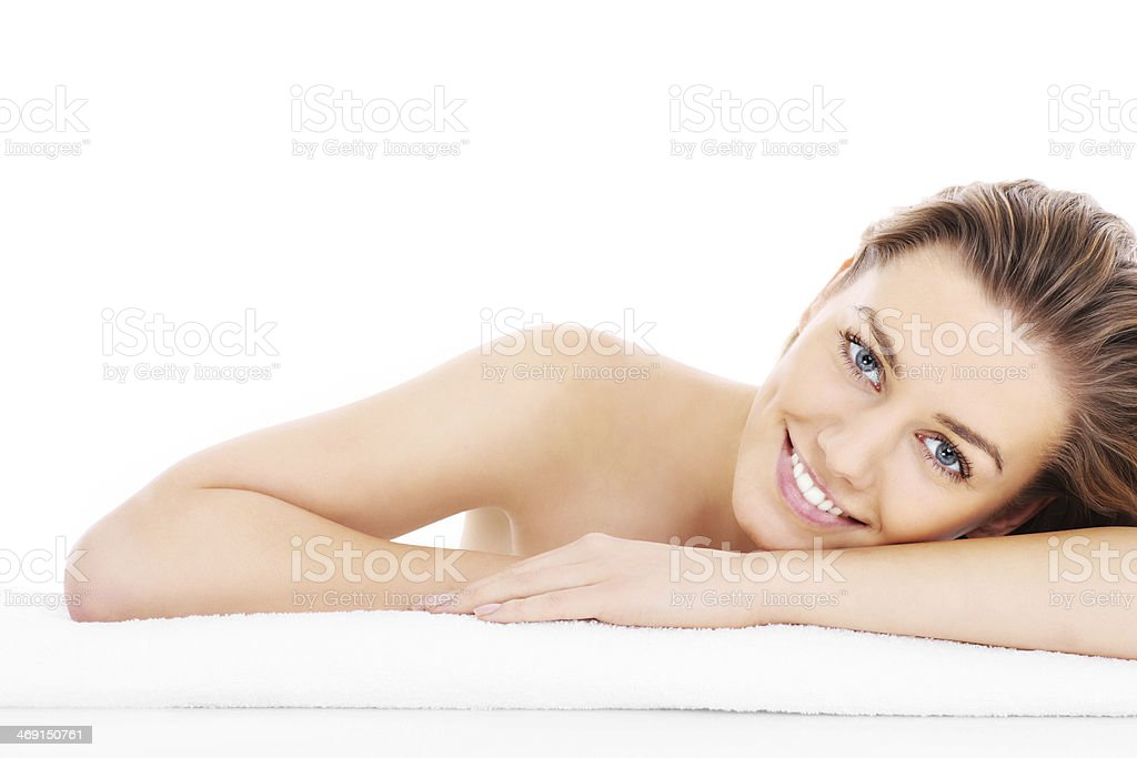 Natural woman royalty-free stock photo