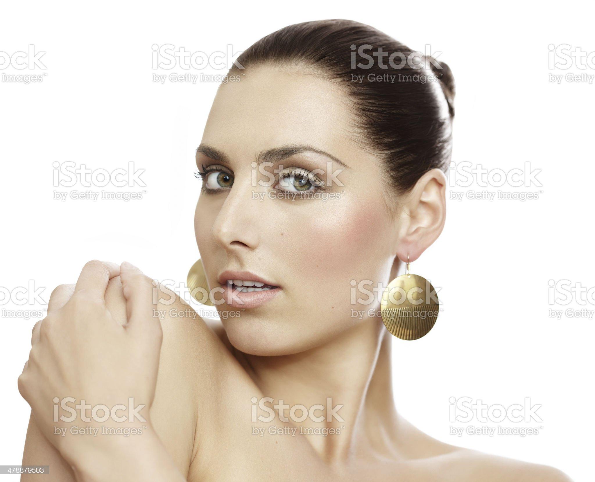 Natural Woman royalty-free stock photo