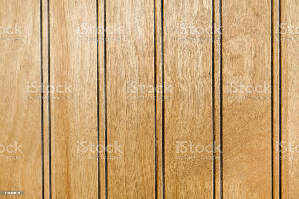 Natural Wood Paneling with Vertical Grain Composition stock photo