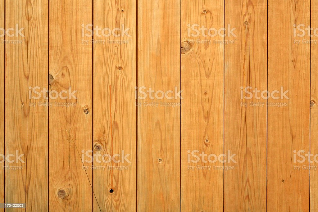 Natural wood planks for paneling or flooring royalty-free stock photo