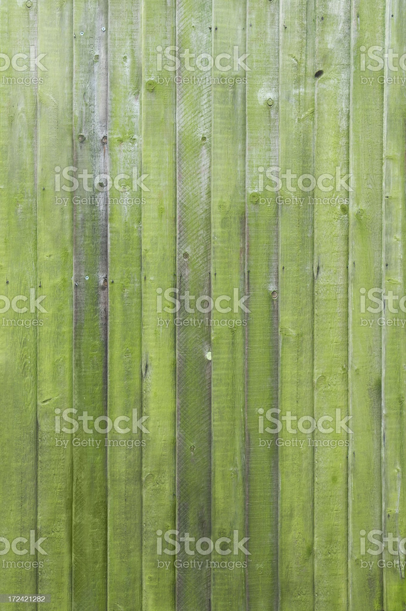 Natural wooden background - fence royalty-free stock photo