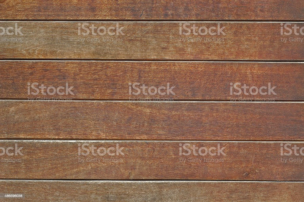 Natural wooden planks stock photo