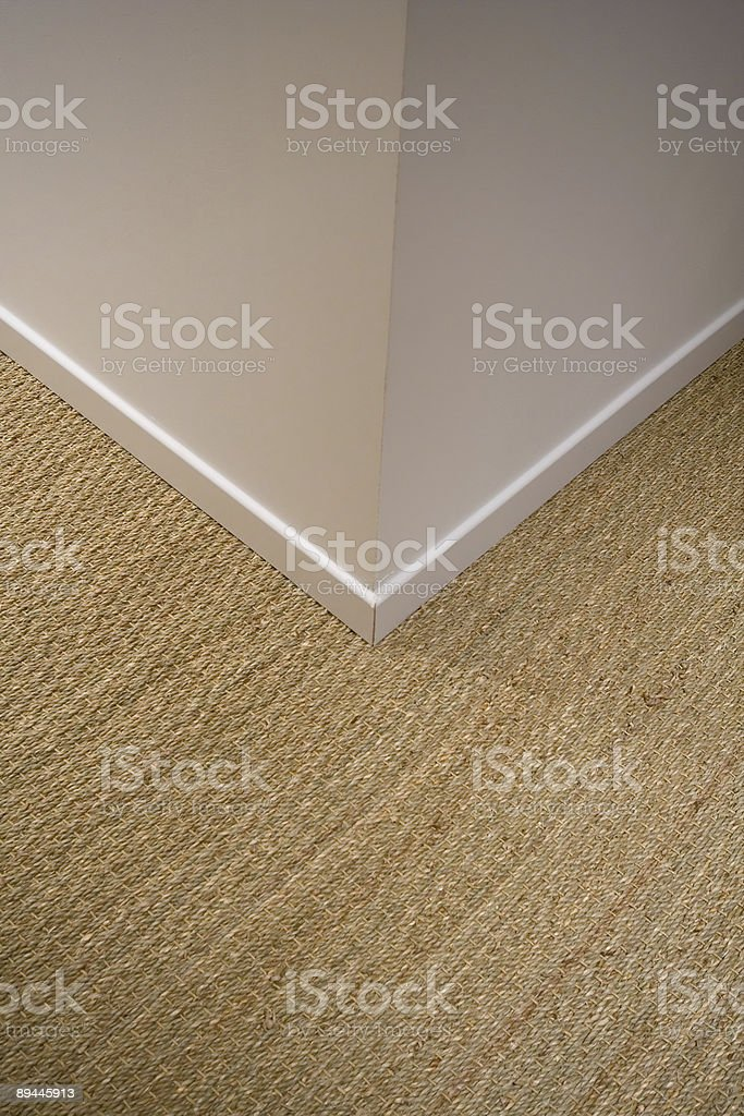 Natural Woven Flooring royalty-free stock photo