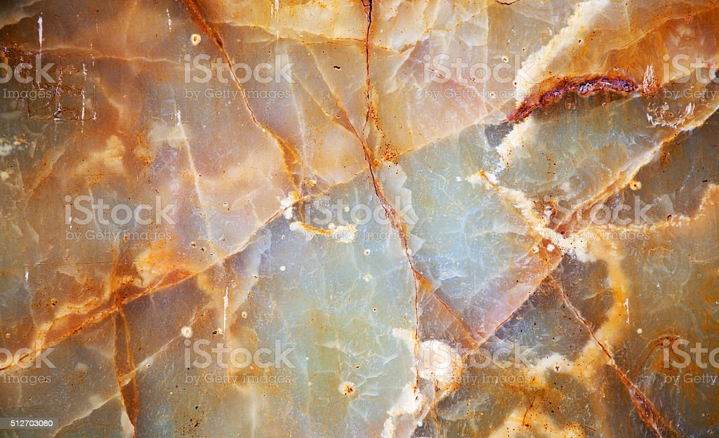 Natural yellow marble texture for pattern and background stock photo