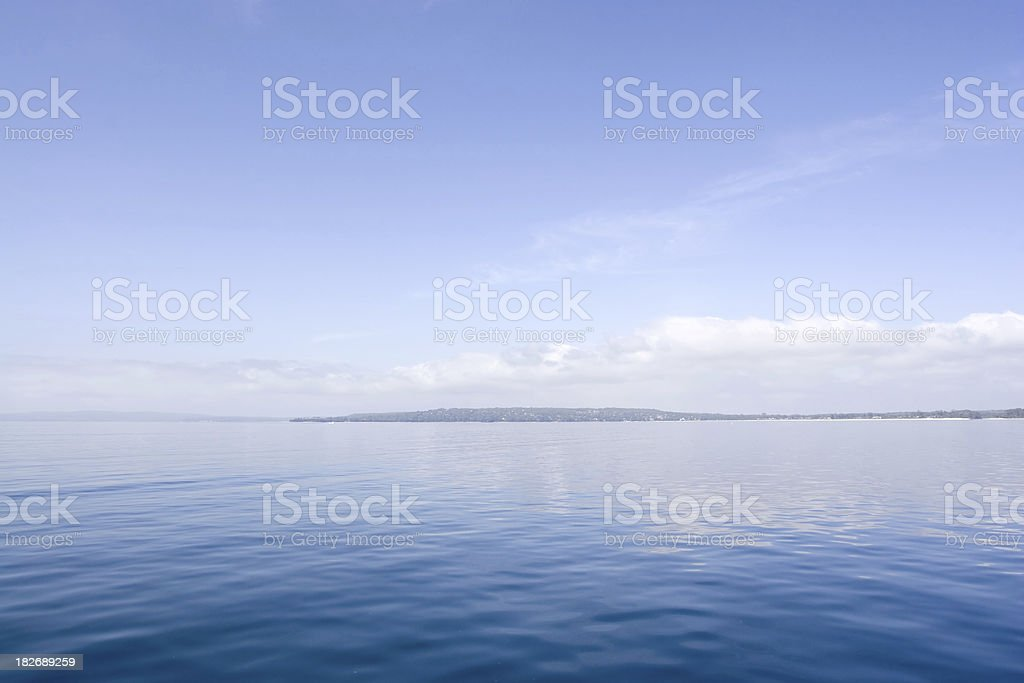 Naturally Blue royalty-free stock photo
