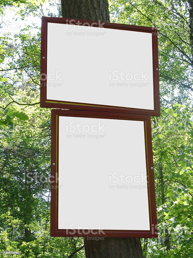 nature adverts royalty-free stock photo