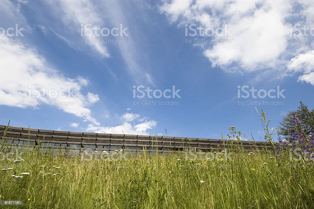 Nature and Architecture stock photo