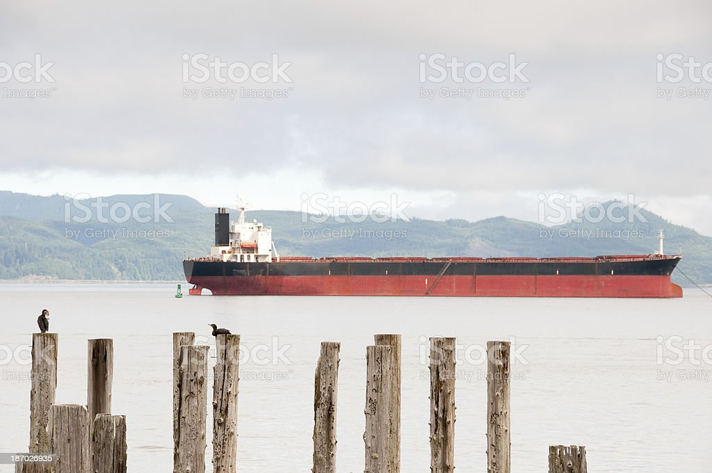 Nature and Industry stock photo