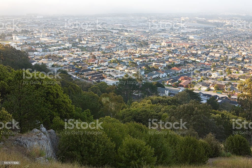 Nature and the Suburbs royalty-free stock photo