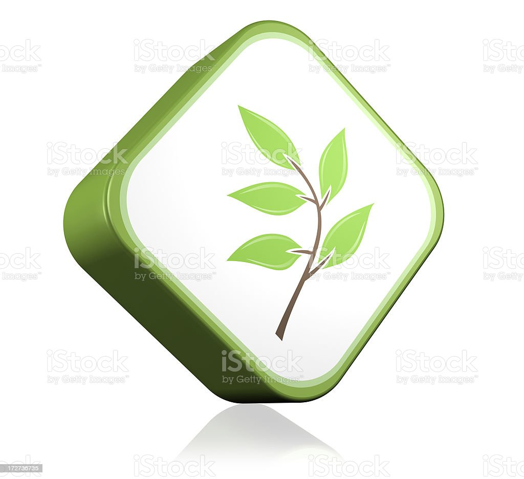 Nature Branch Icon stock photo