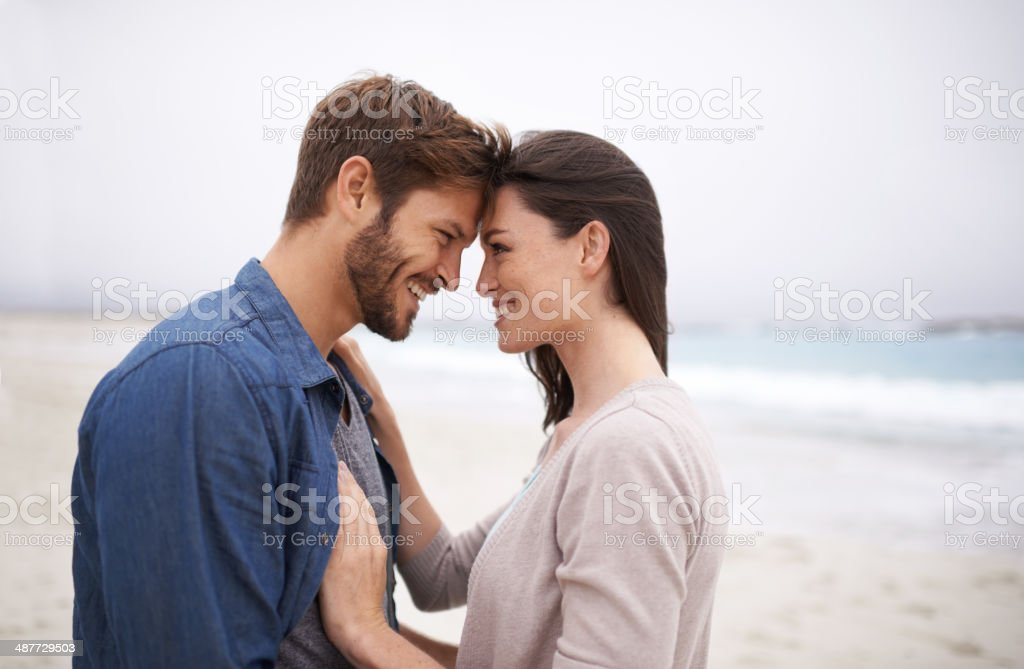 Nature brings out that natural kind of love stock photo