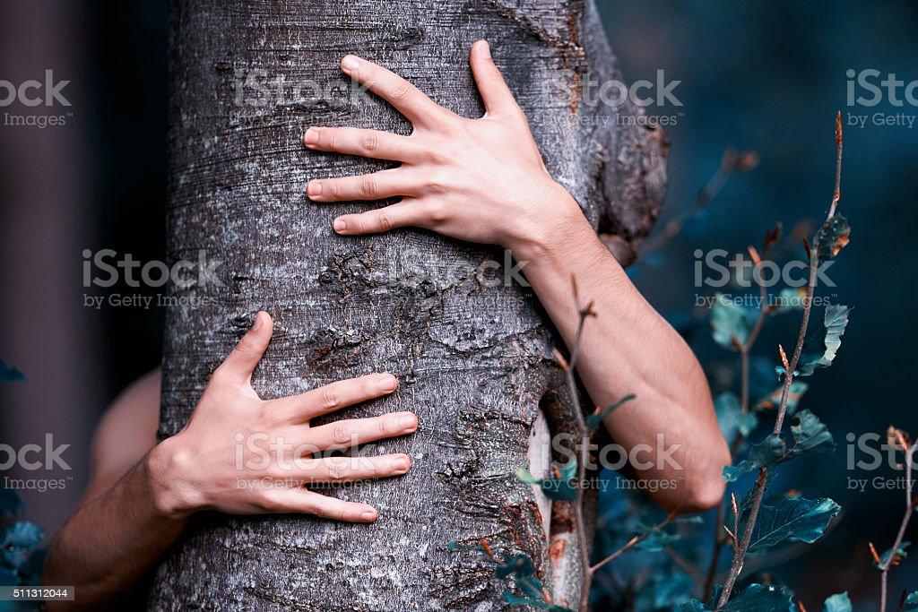 Nature care stock photo
