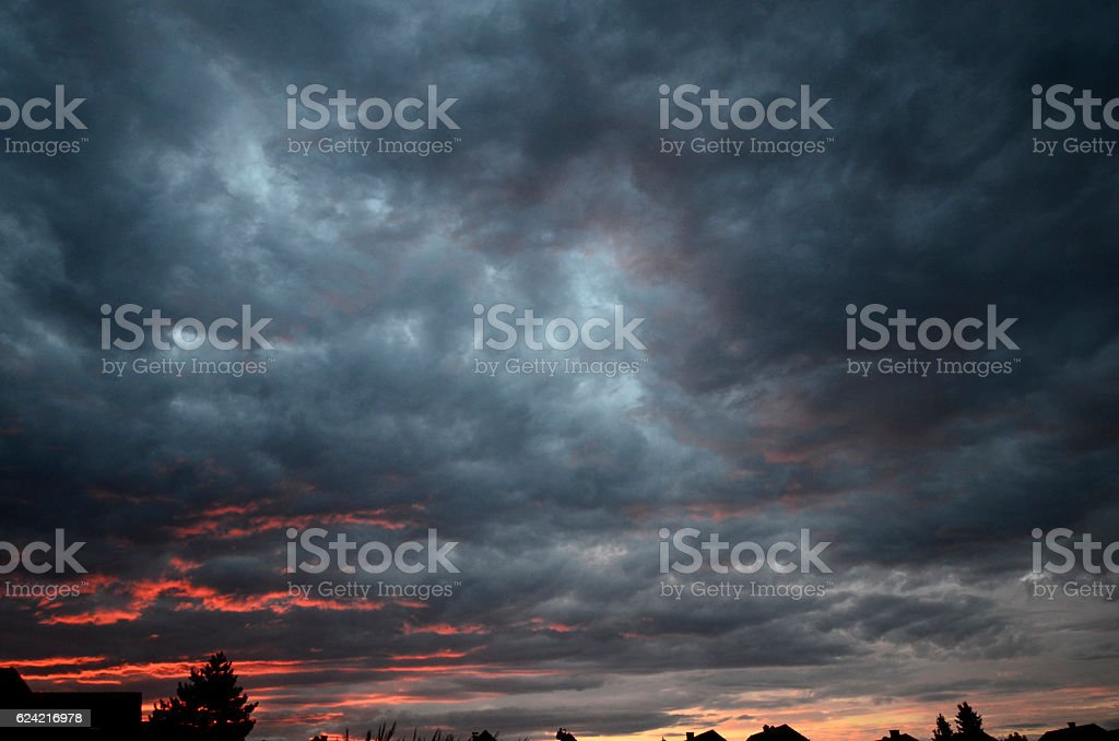 Nature, Clouds stock photo