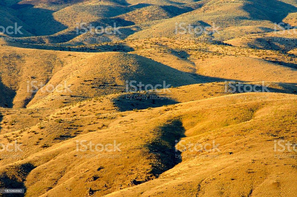 Nature curves stock photo
