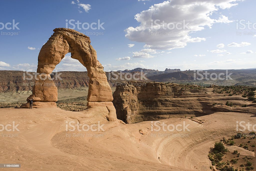 Nature, Delicate Arch royalty-free stock photo
