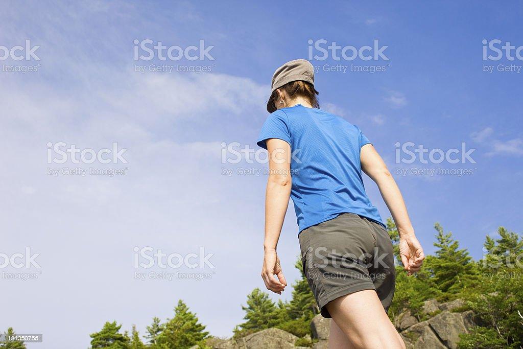 Nature Fitness Walking stock photo
