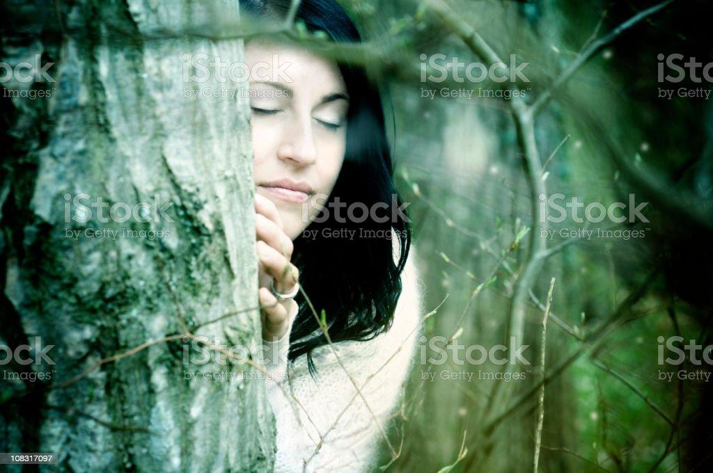 Nature Girl royalty-free stock photo