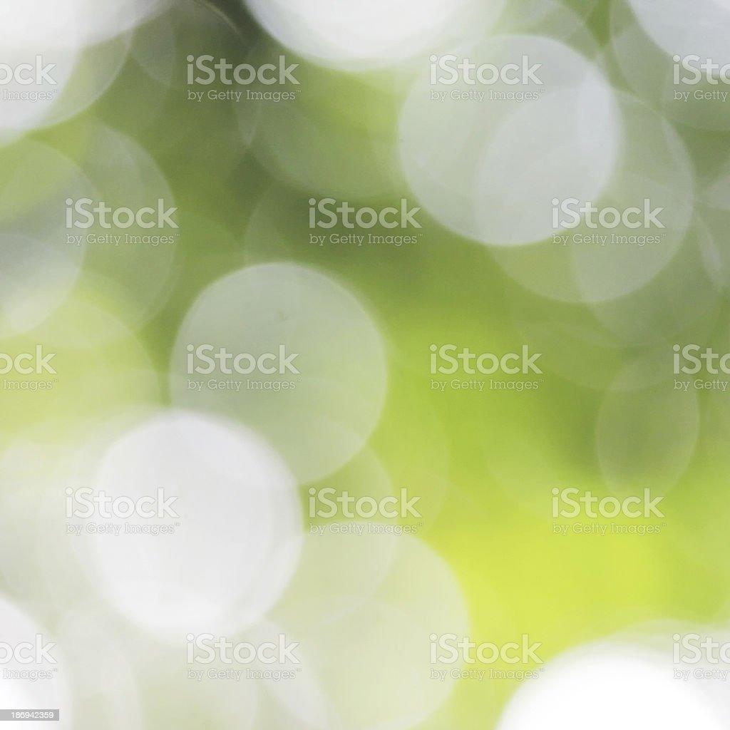 Nature green bokeh royalty-free stock photo