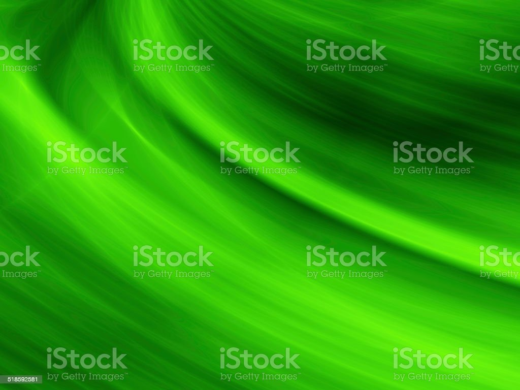 Nature green wavy abstract design stock photo