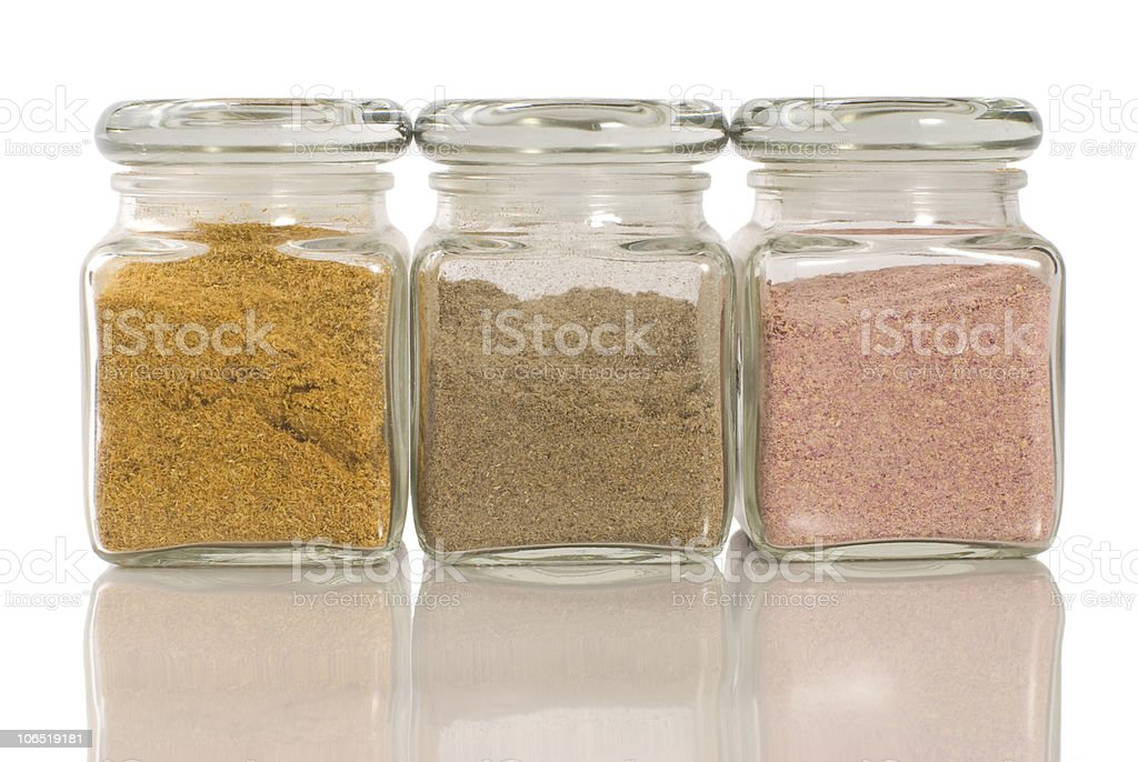 Nature herb powder royalty-free stock photo