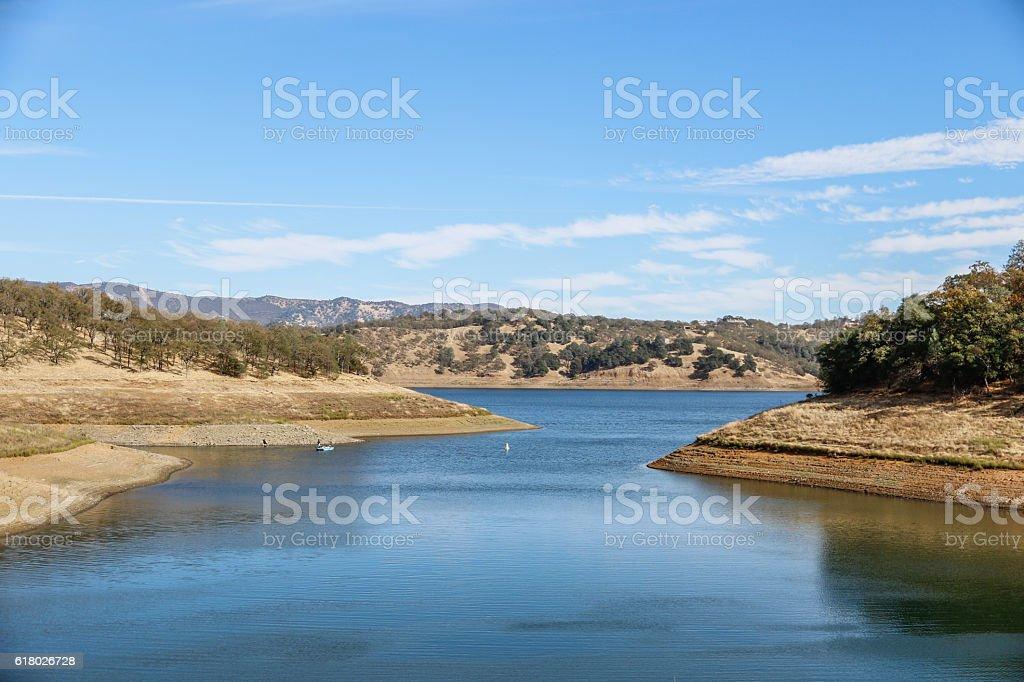 Nature: Lake Berryessa stock photo