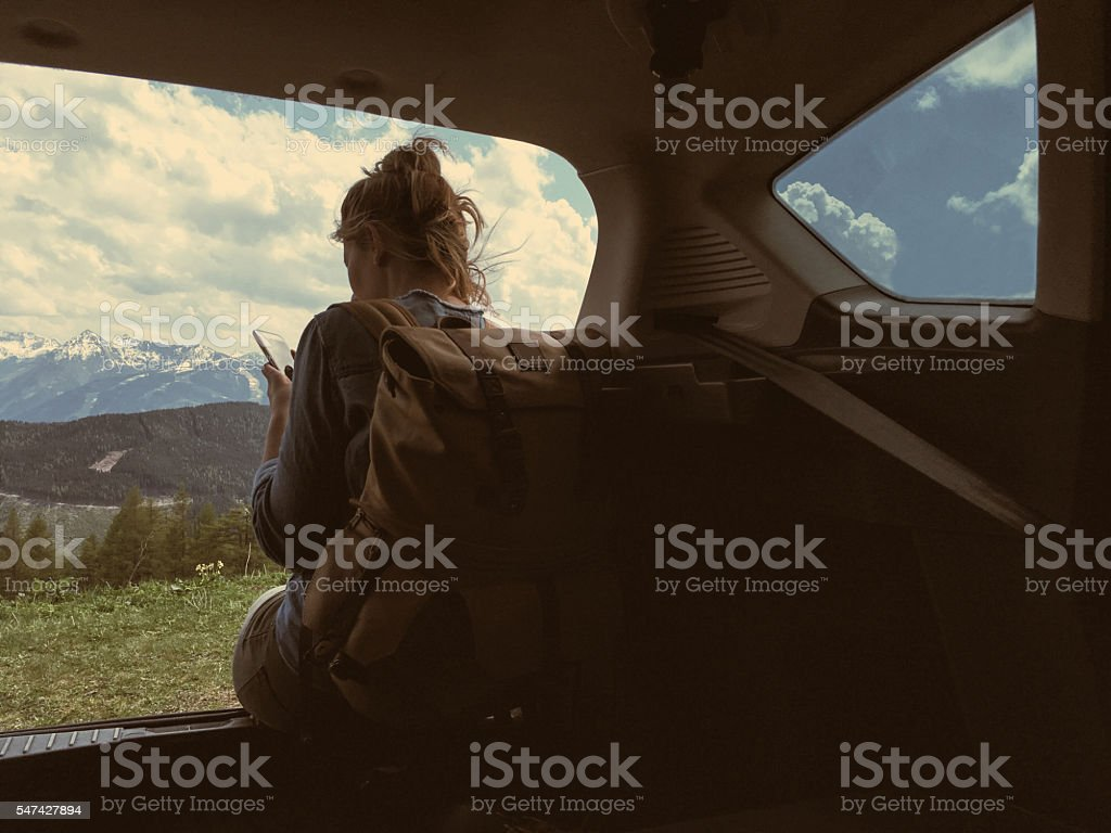 Nature lover stock photo