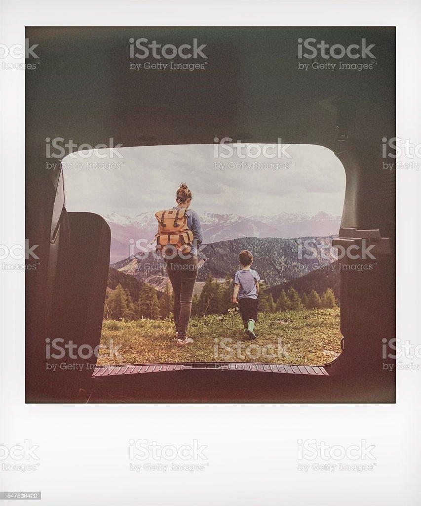Nature lovers stock photo