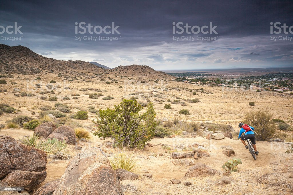 nature mountain biking landscape royalty-free stock photo