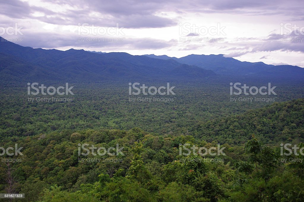 nature mountains and jungles ,Thailand stock photo