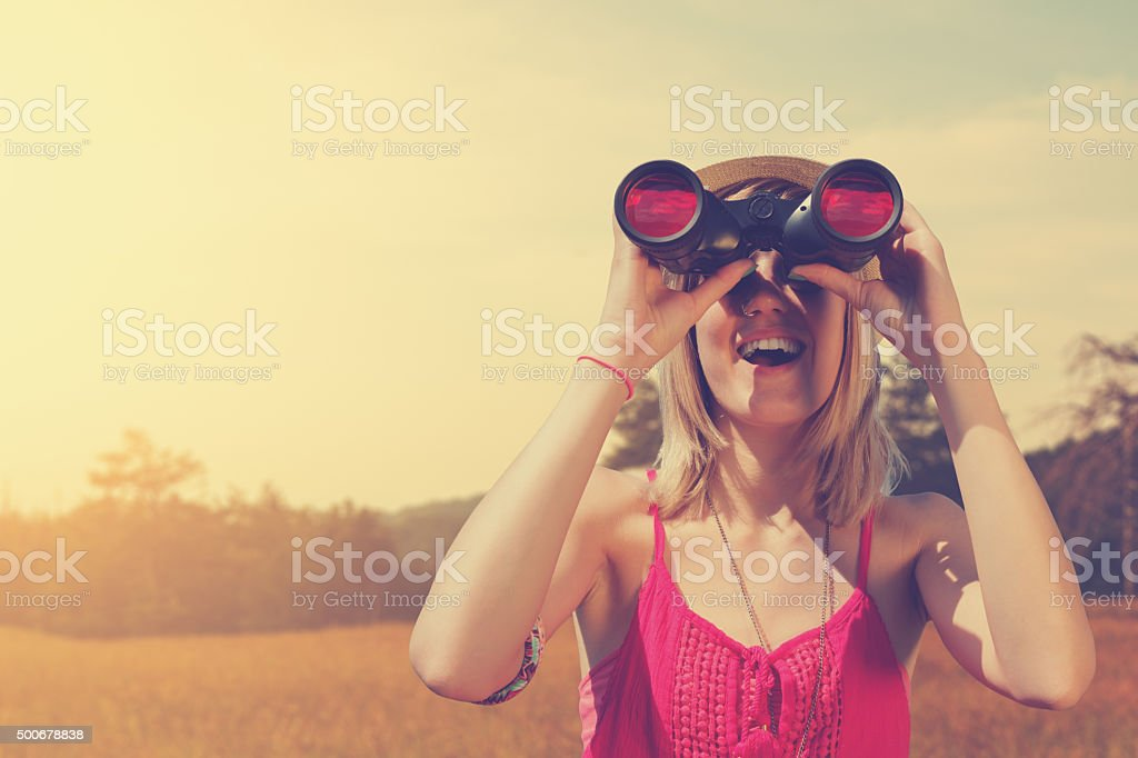 Nature Observing stock photo
