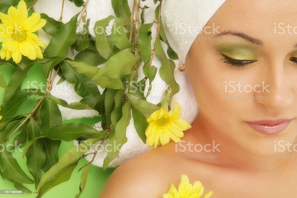 Nature of Woman royalty-free stock photo