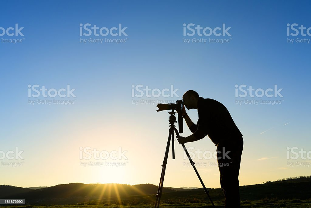 nature photographing royalty-free stock photo