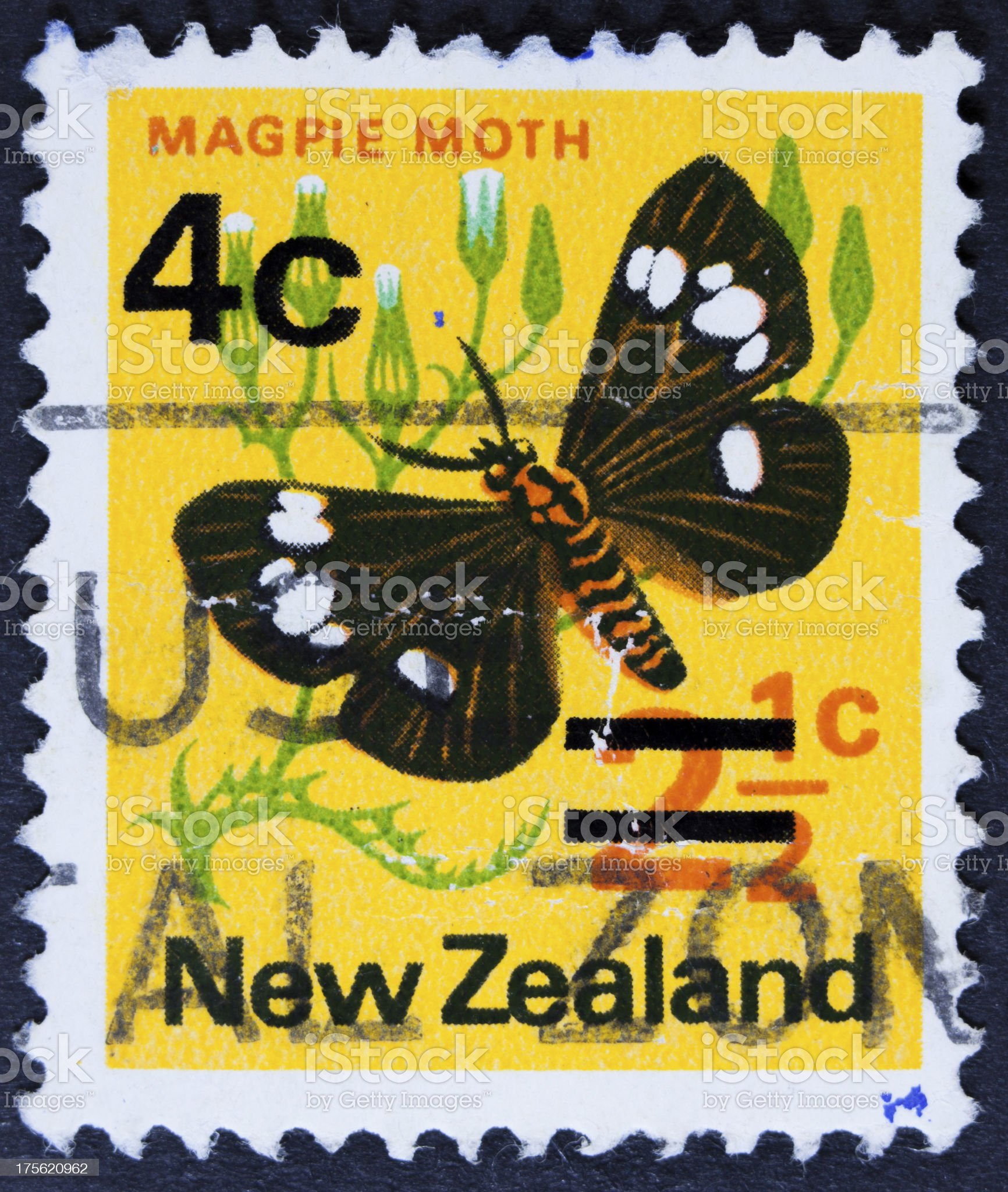 Nature Postage stamp royalty-free stock photo