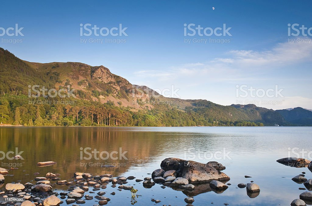 Nature Reflected, Lake District, UK stock photo