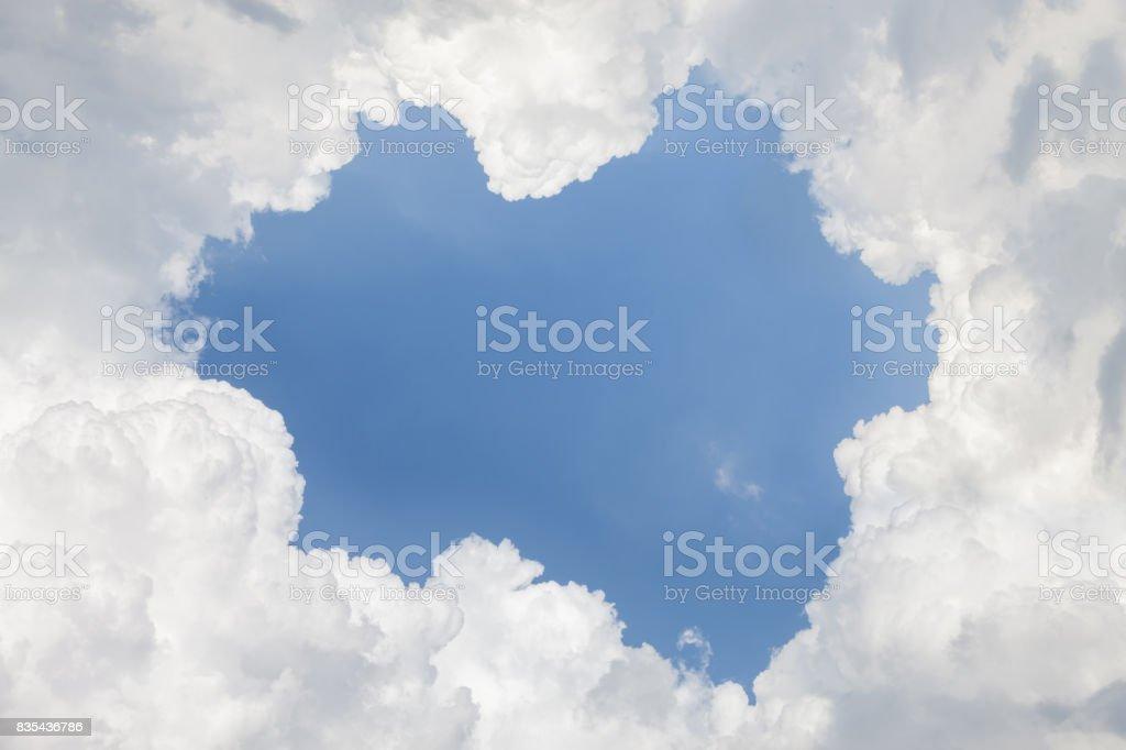Nature sky stock photo