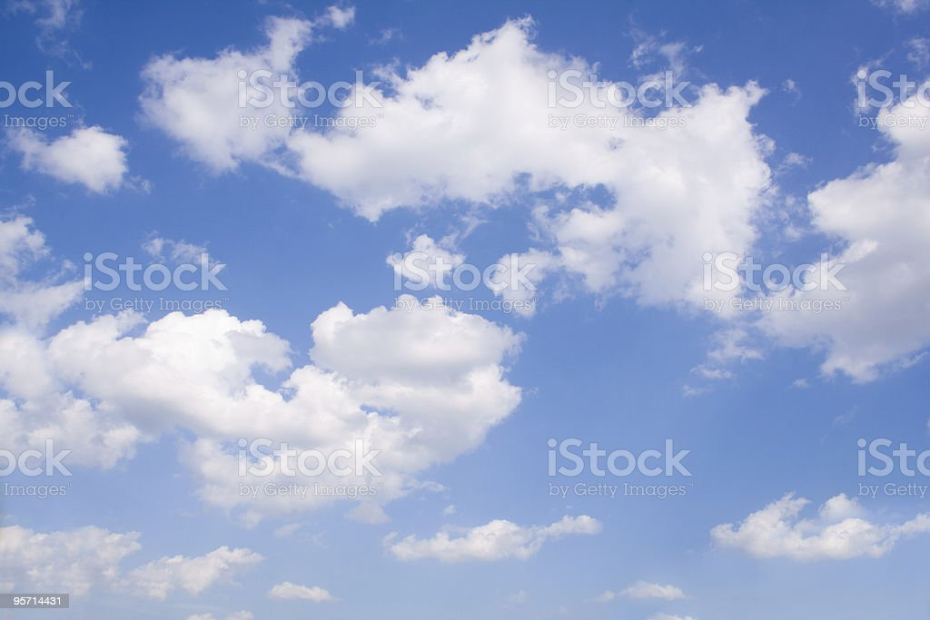 nature. sky with clouds stock photo
