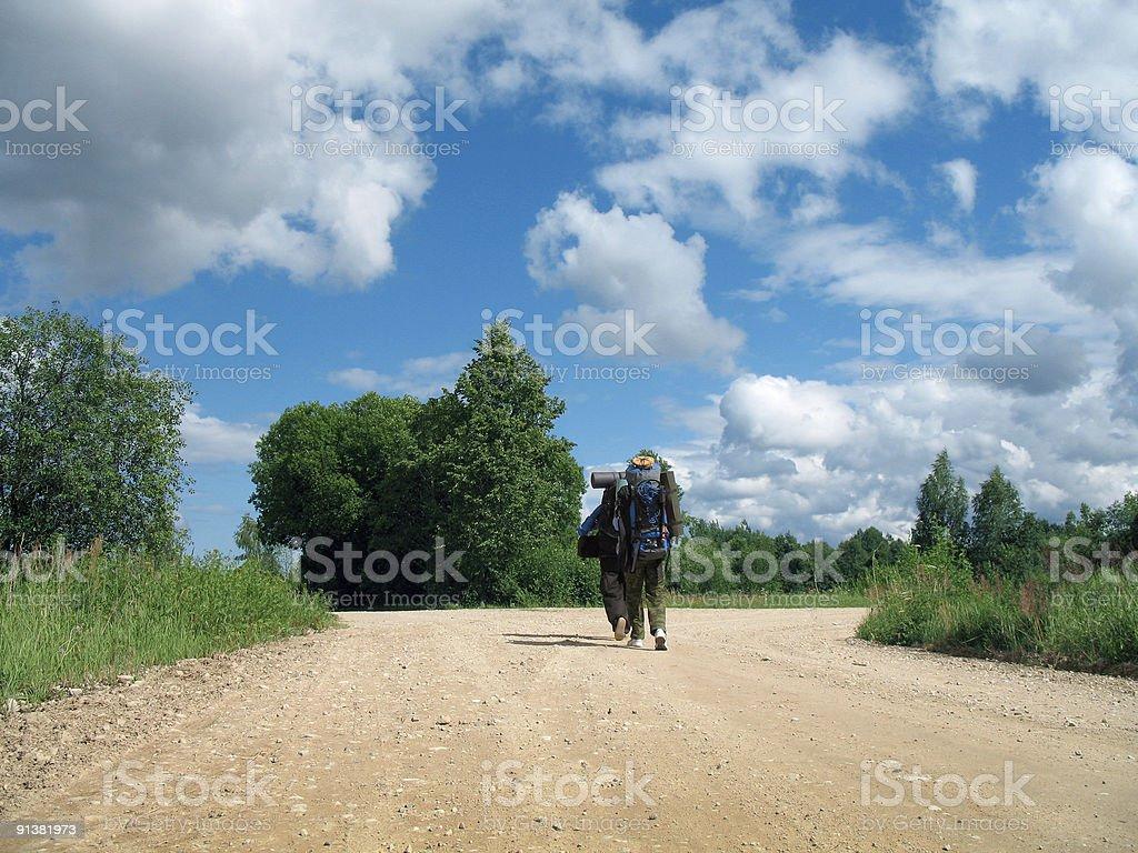 nature walking stock photo