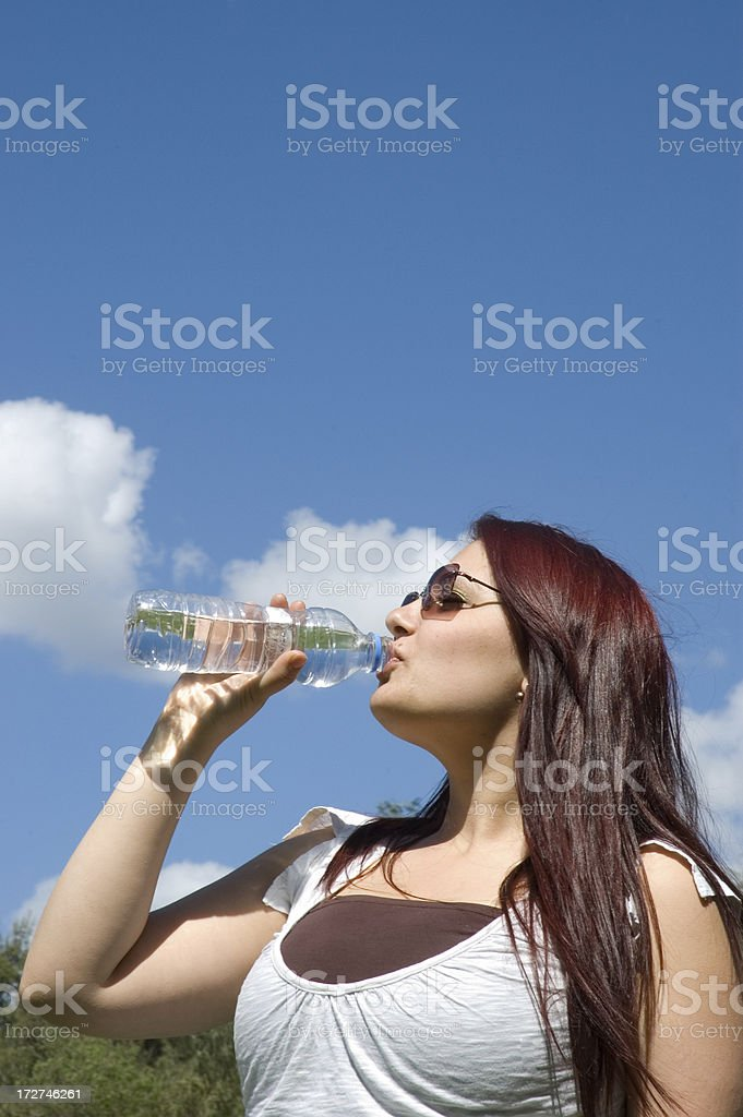 naturel water royalty-free stock photo