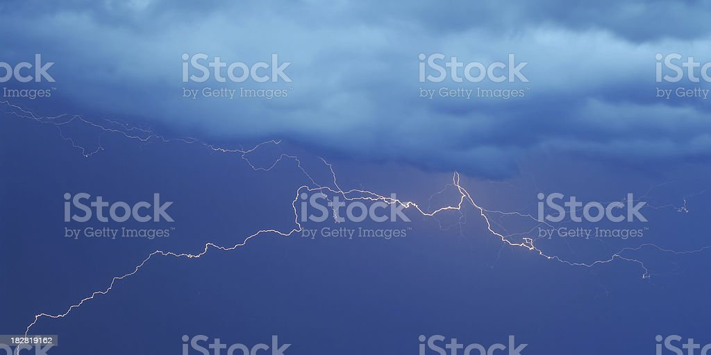 Natures Fireworks royalty-free stock photo