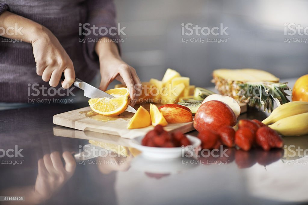 Nature's take aways stock photo