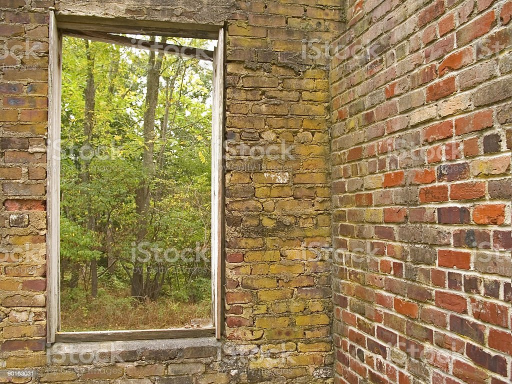 Natures Window royalty-free stock photo