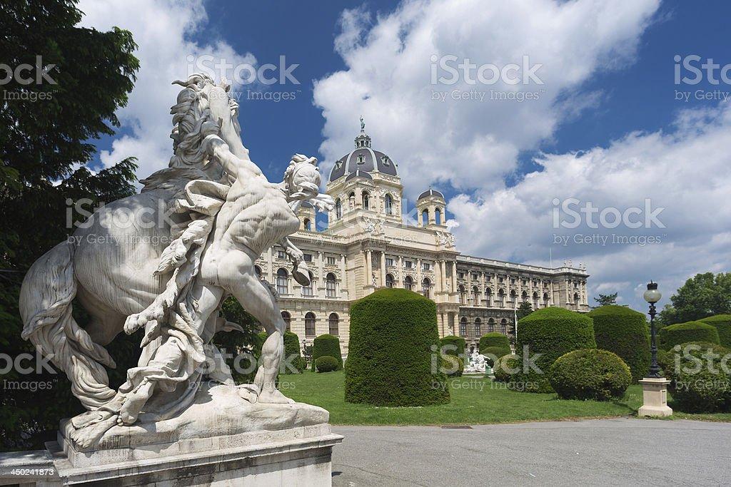 Naturhistorisches Museum Wien stock photo