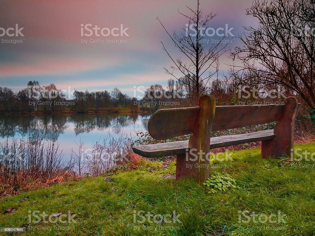 Naturliebhaber stock photo