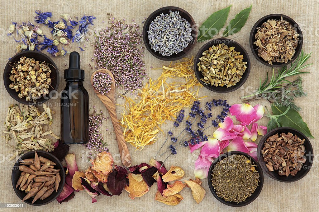 Naturopathic Medicine stock photo