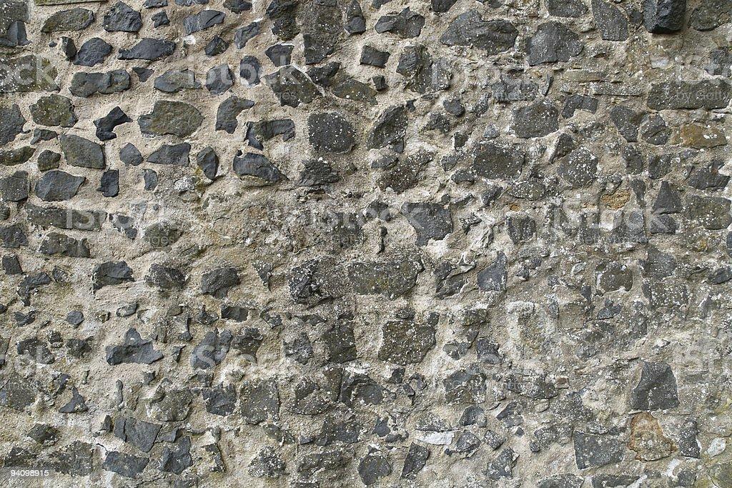 Naturstein Mauer stock photo