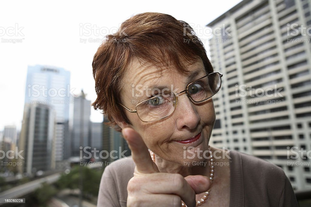 Naughty! stock photo