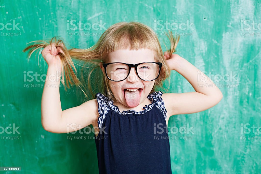 Naughty sweetie stock photo