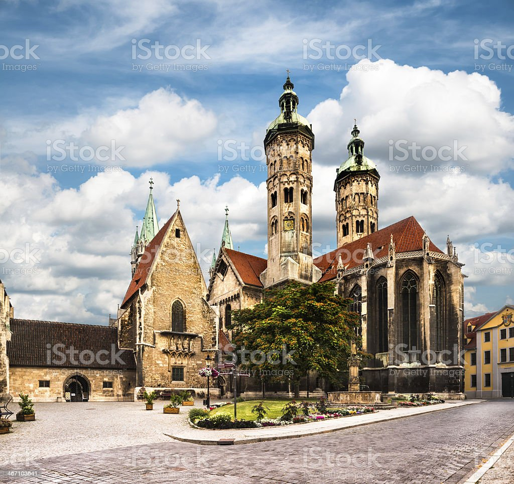 Naumburg Cathedral royalty-free stock photo